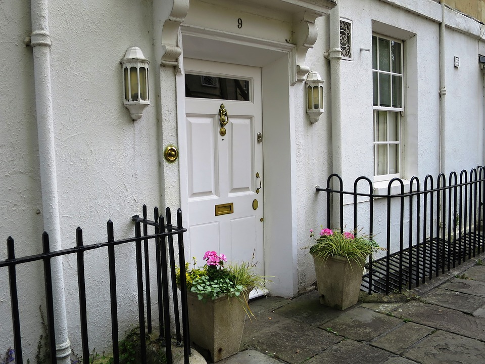 A Residential Entry Door.